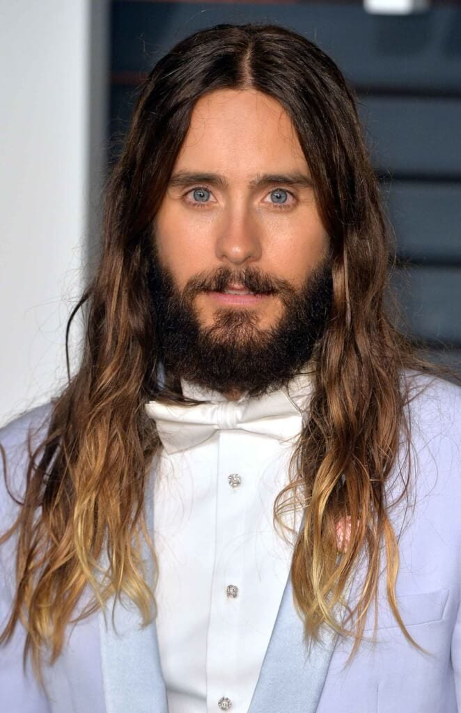 guys with long hair Jared Leto