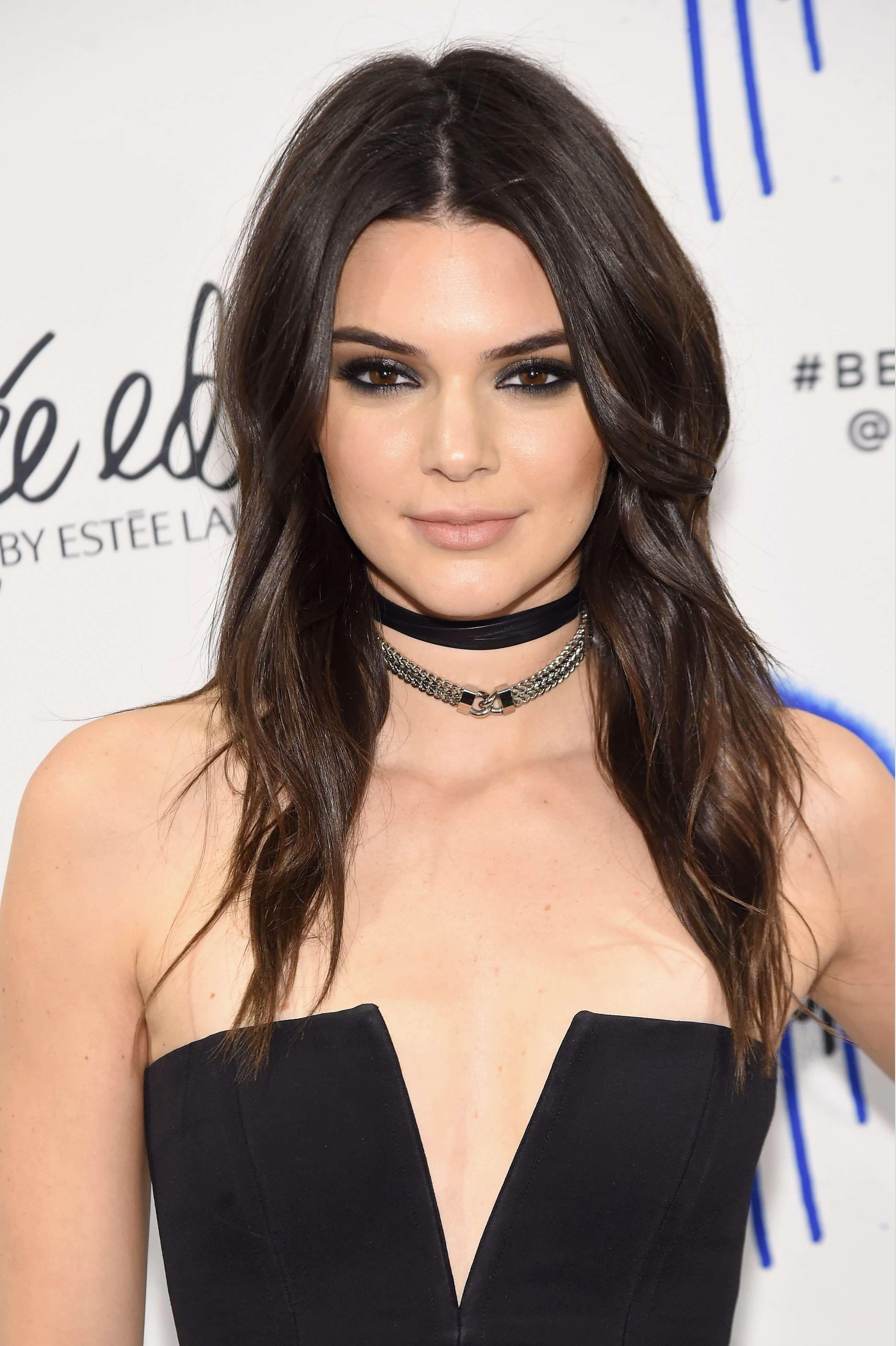 Kendall Jenner brunette hair