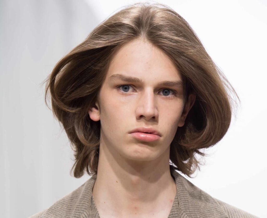 J Hairstyle: London Collections Men SS17: Runway Hair Trends