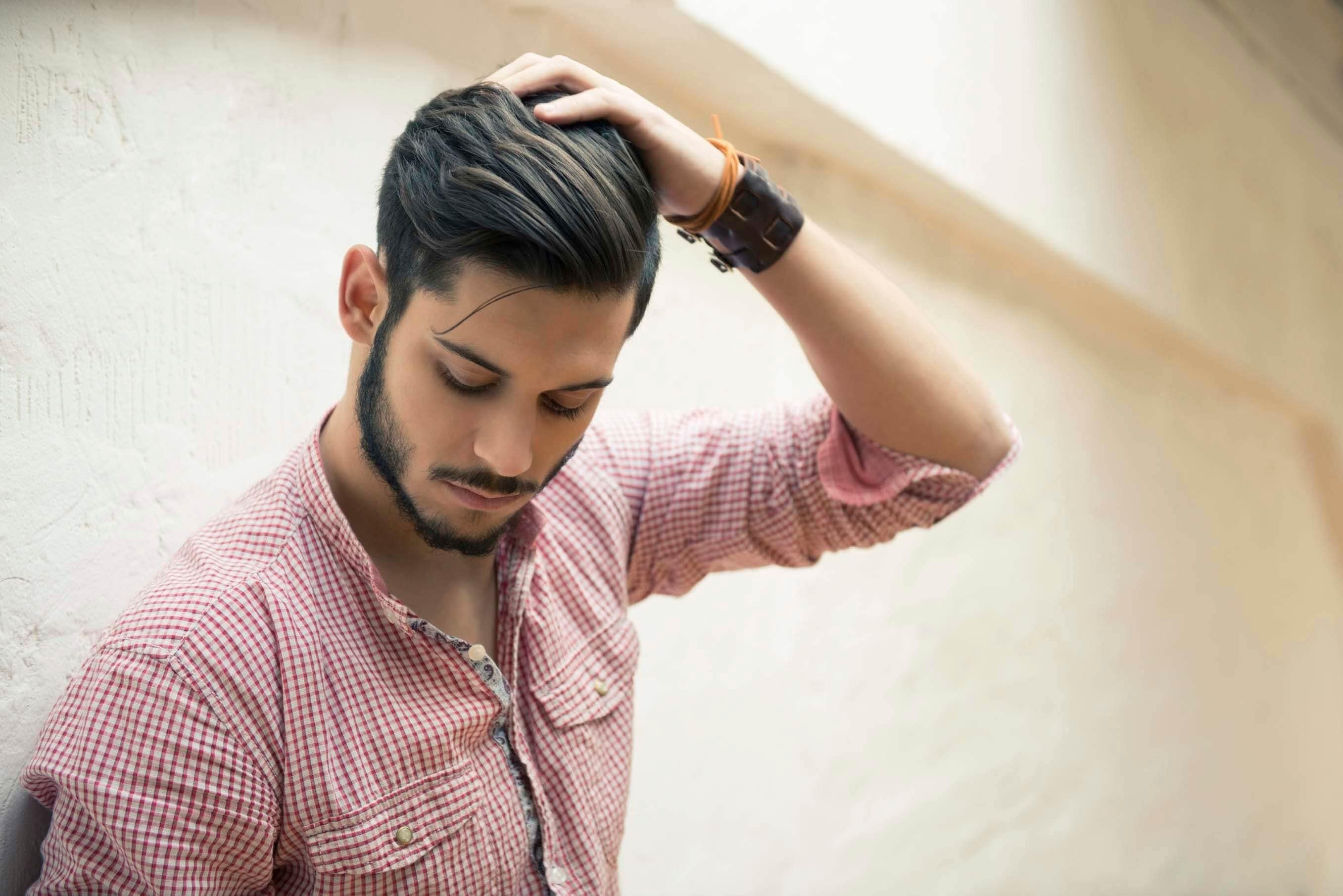 long quiff hairstyle
