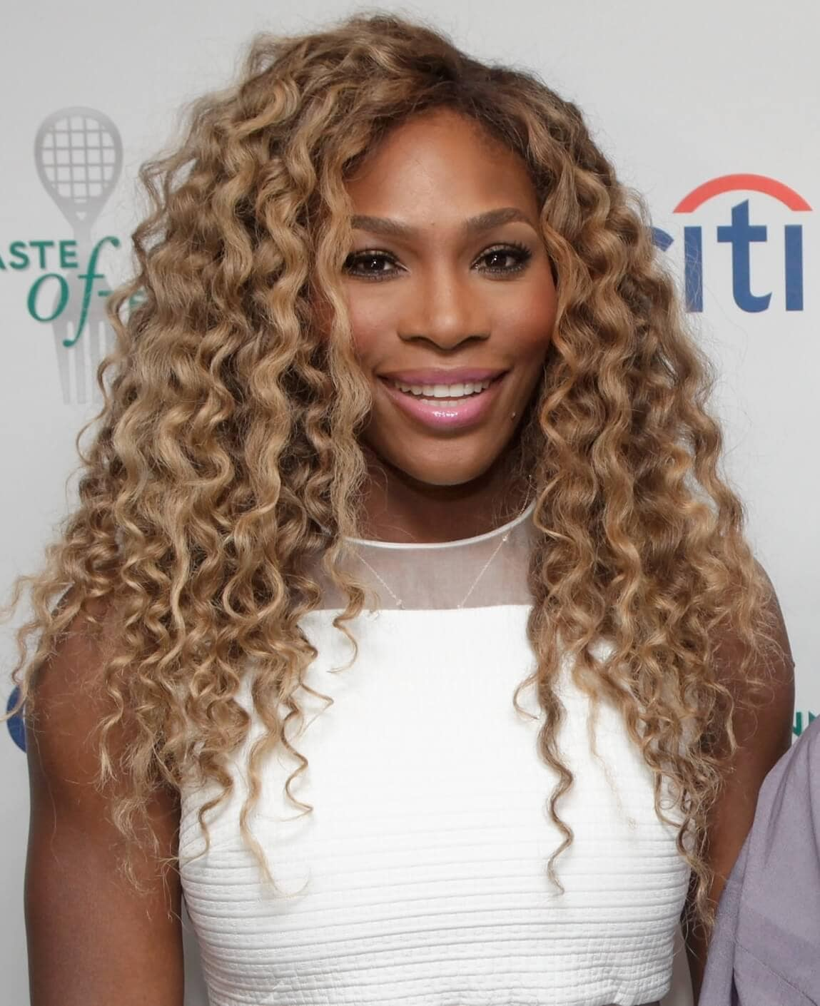 serena Williams blonde twist-out gettyimages