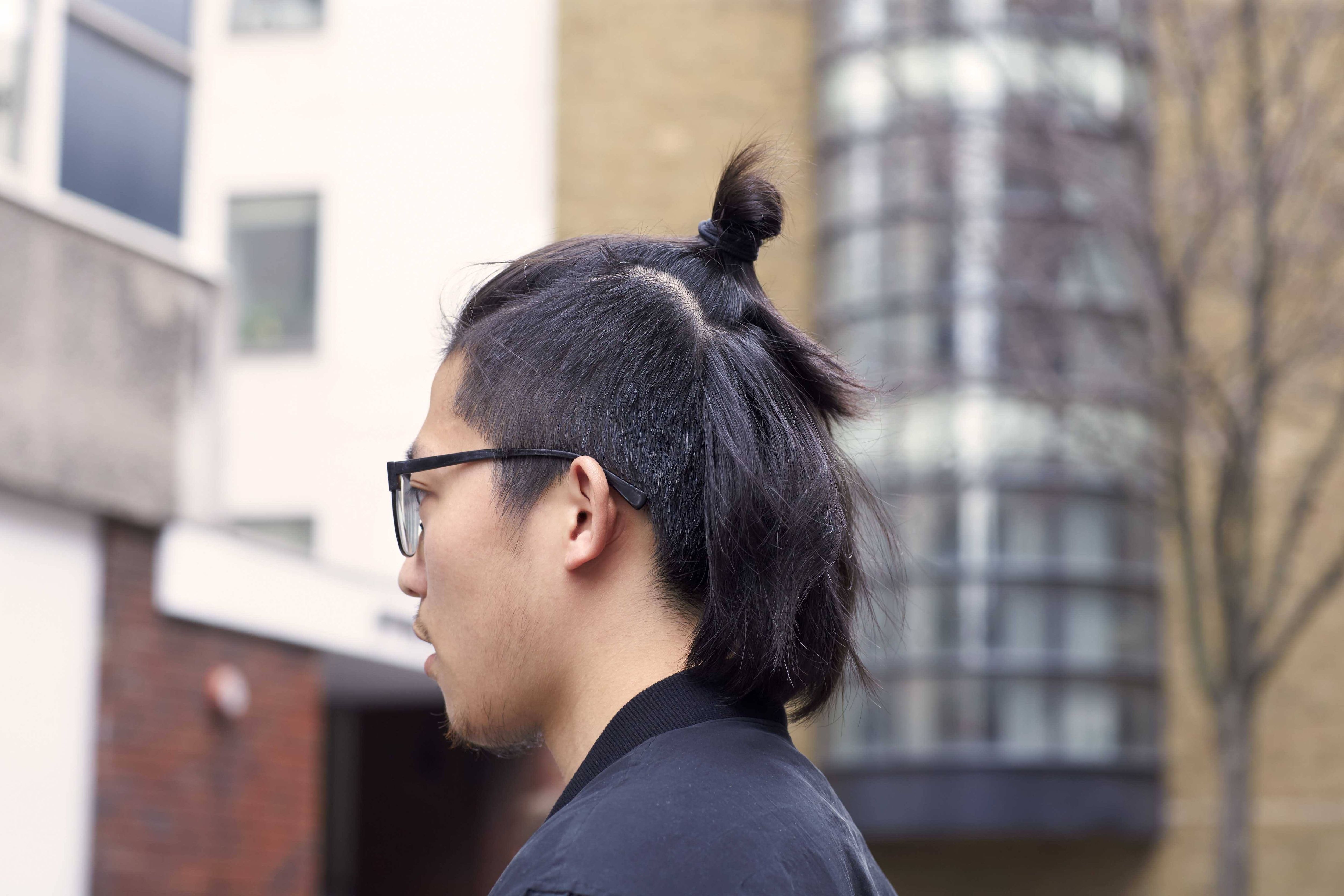 Asian mohawk hairstyle has nice