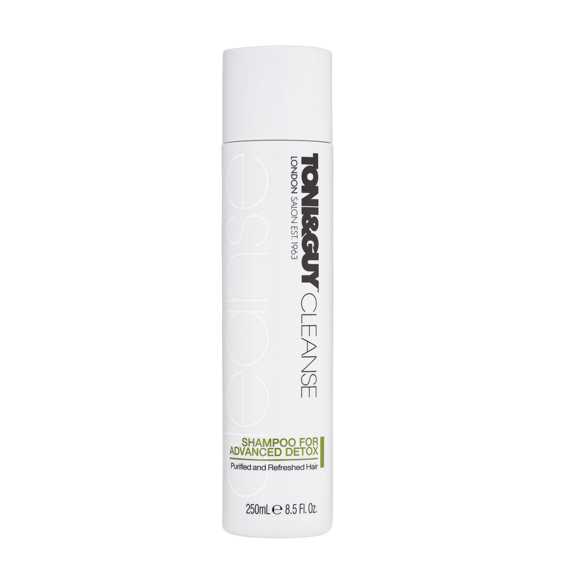 Shampoo for greasy hair: Toni&Guy Cleanse & Nourish Shampoo For Advanced Detox.