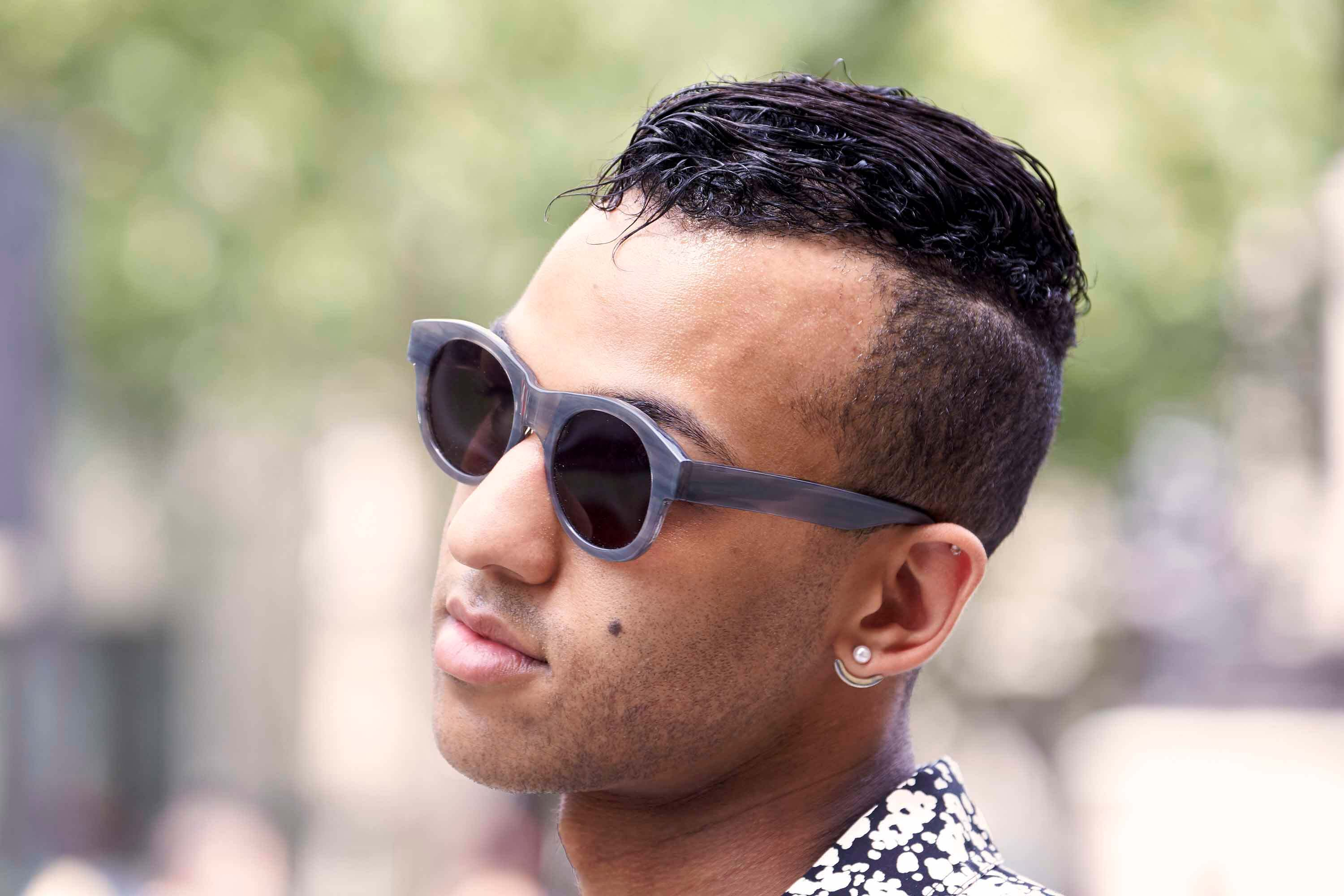 London Collections Men 2016 Street Style Hair Trends