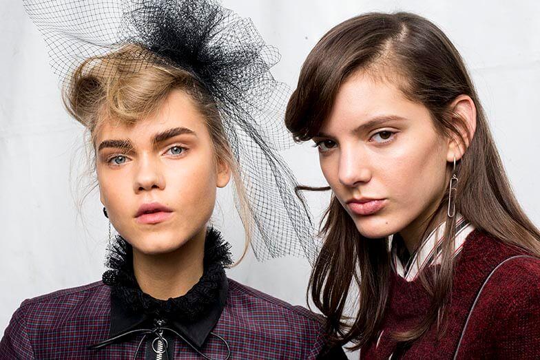 Isabel Marant aw16 hairnet kate middleton hair