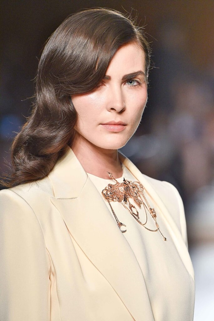 forties style waves couture fall 2016