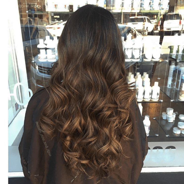 balayage on dark hair the 5 stunning looks you need to see all