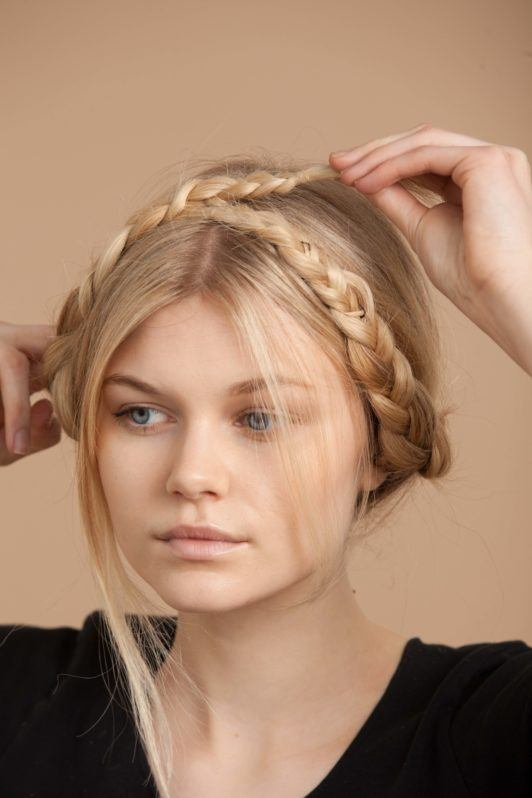 how to get a milkmaid braid in 5 easy steps with our tutorial