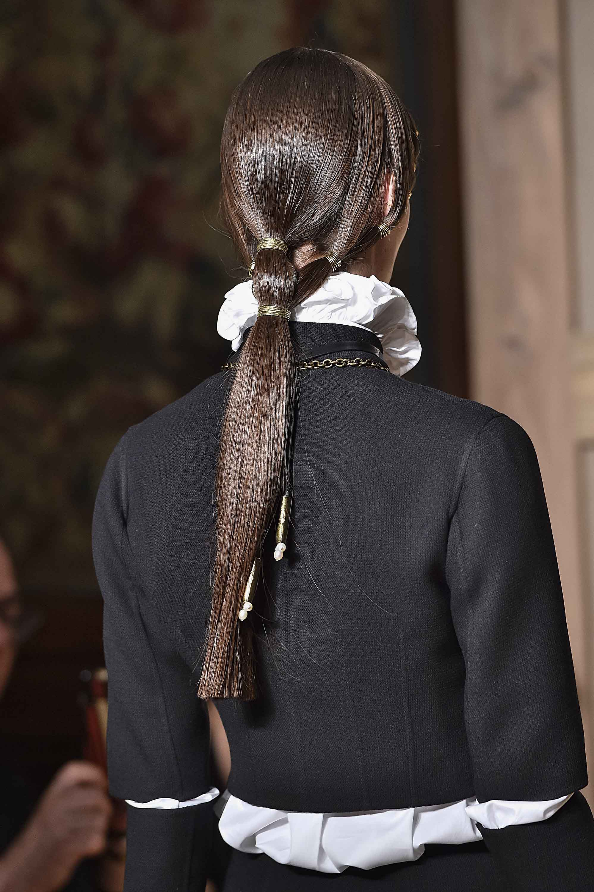 Ponytail update couture fall 2016