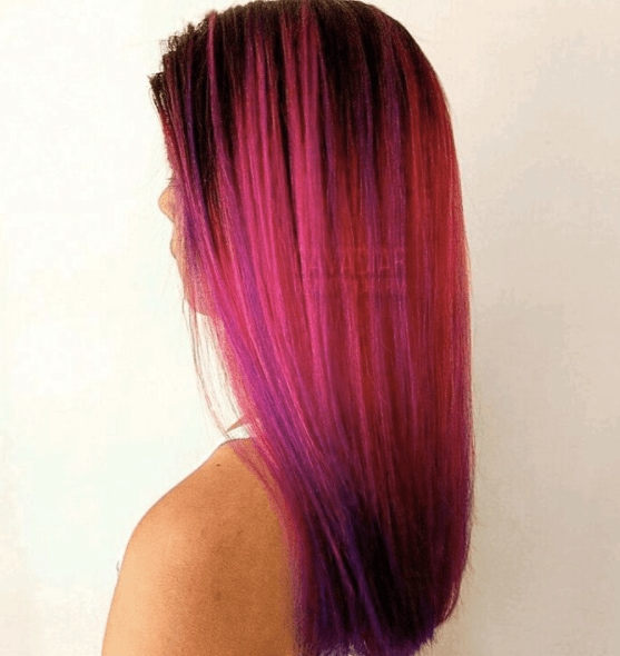 mermaid hair colour