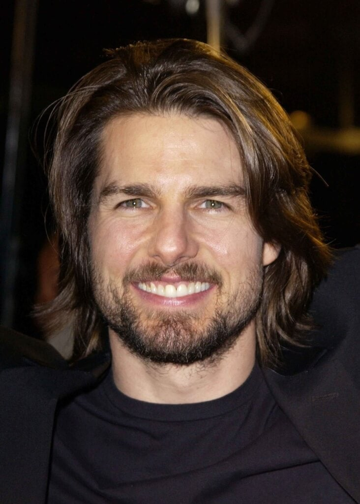 Tom Cruise guys with long hair