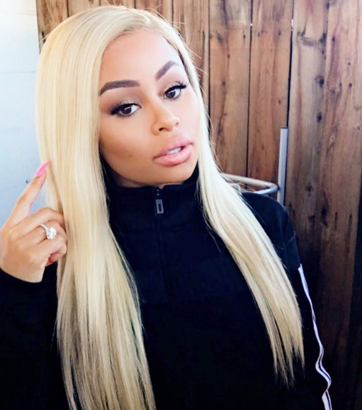 Image result for blac chyna blonde hair