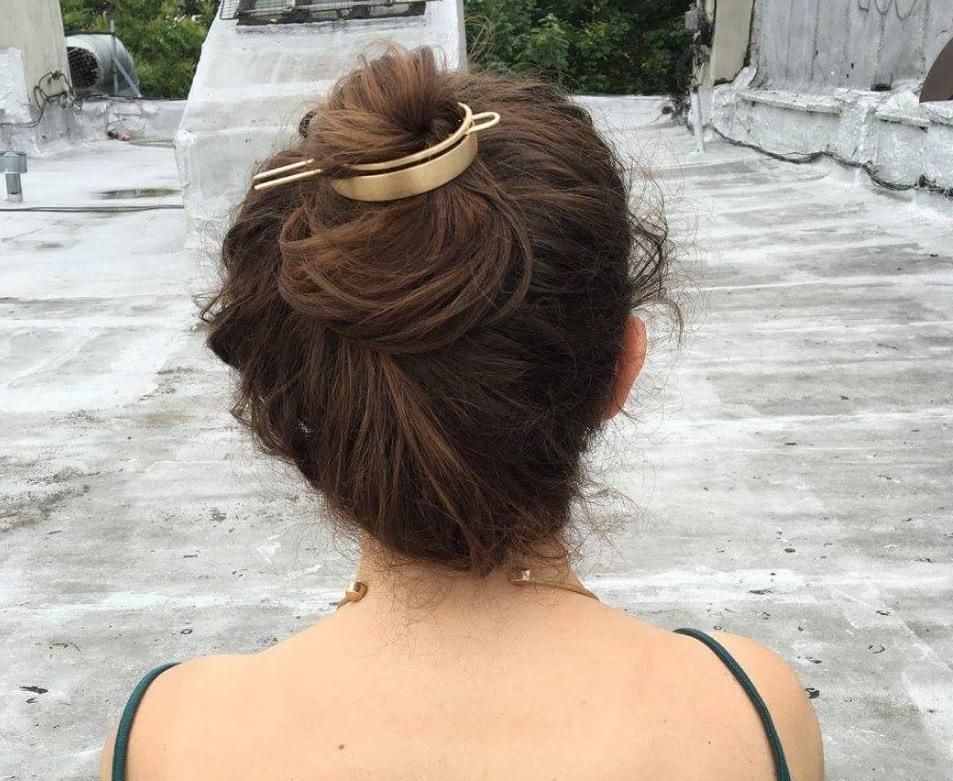 Bun hair: hair bun cuff messy bun