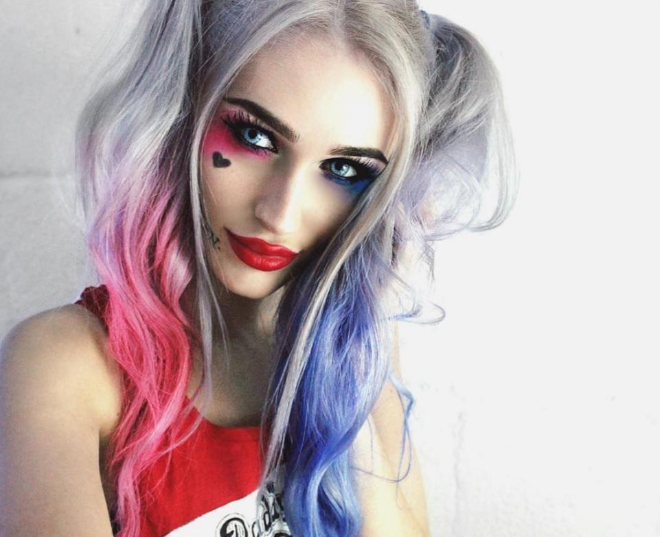 Harley Quinn Hairstyle Suicide Squad Inspired Recreations