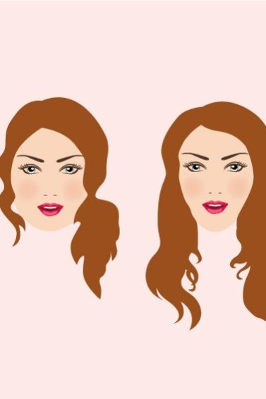 long hairstyles different face shapes