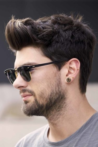 The best men's hairstyles for every age pompadour