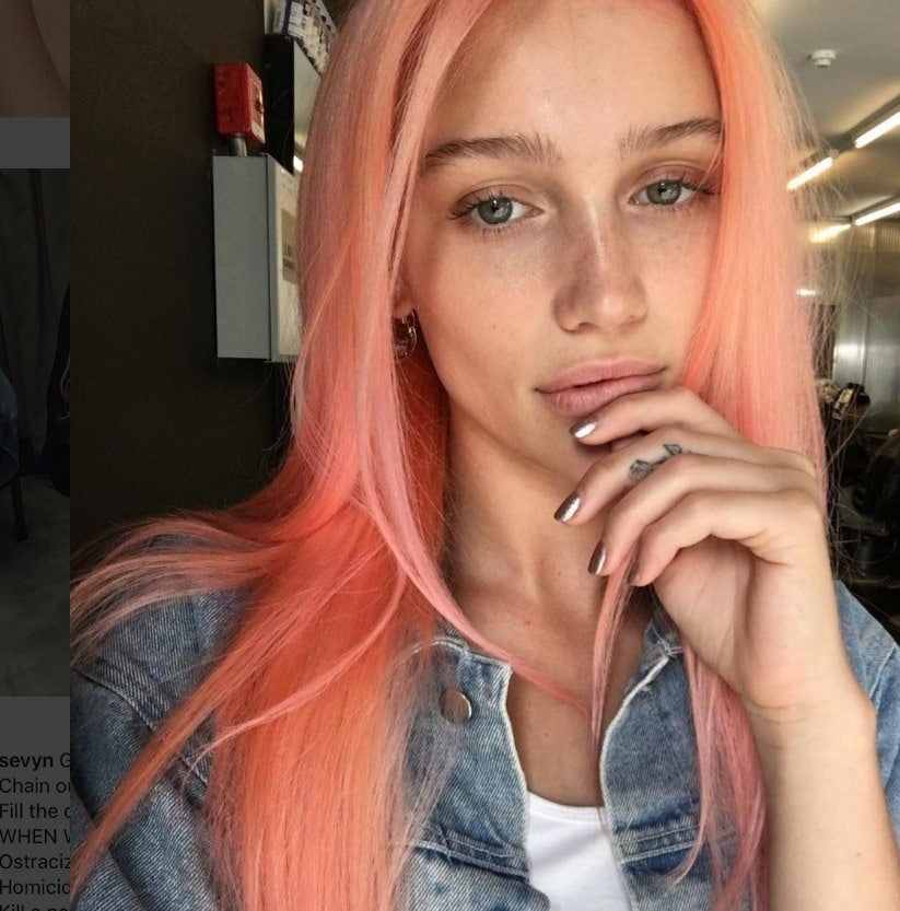 instagram trend alert peach hair colours to try in 2016
