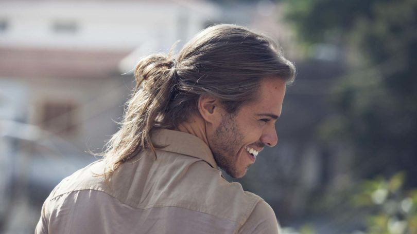 The Man Bun 2 0 How To Do A Messy Low Bun