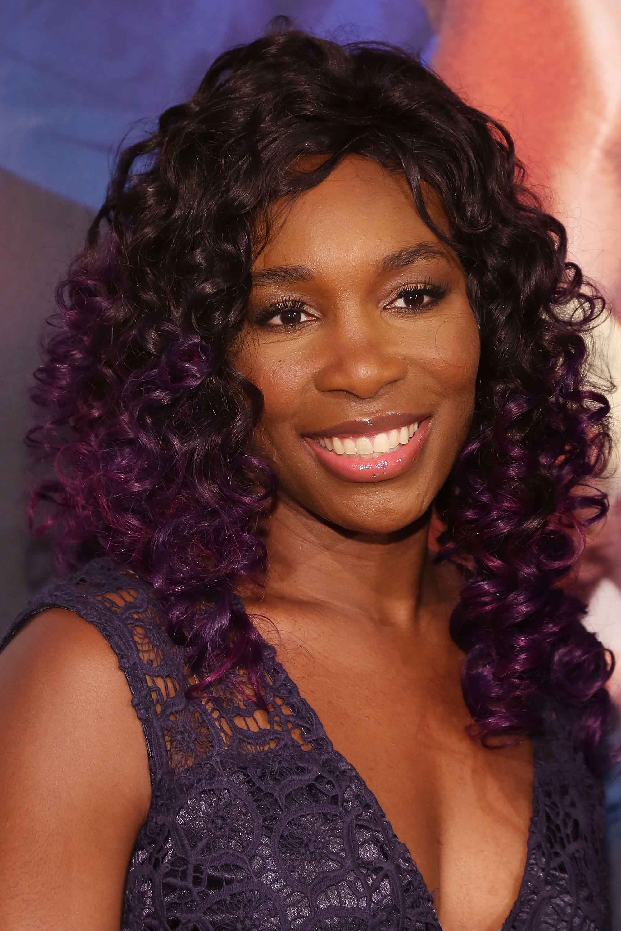 Hairstyles for athletes Venus Williams tennis