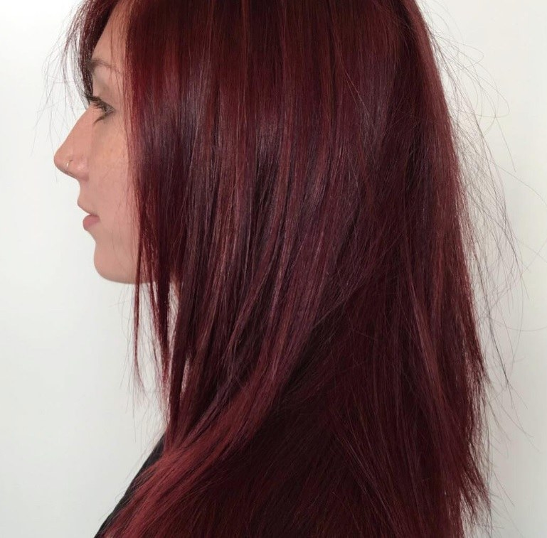 Dark Red Hair Colours To Try This Autumn