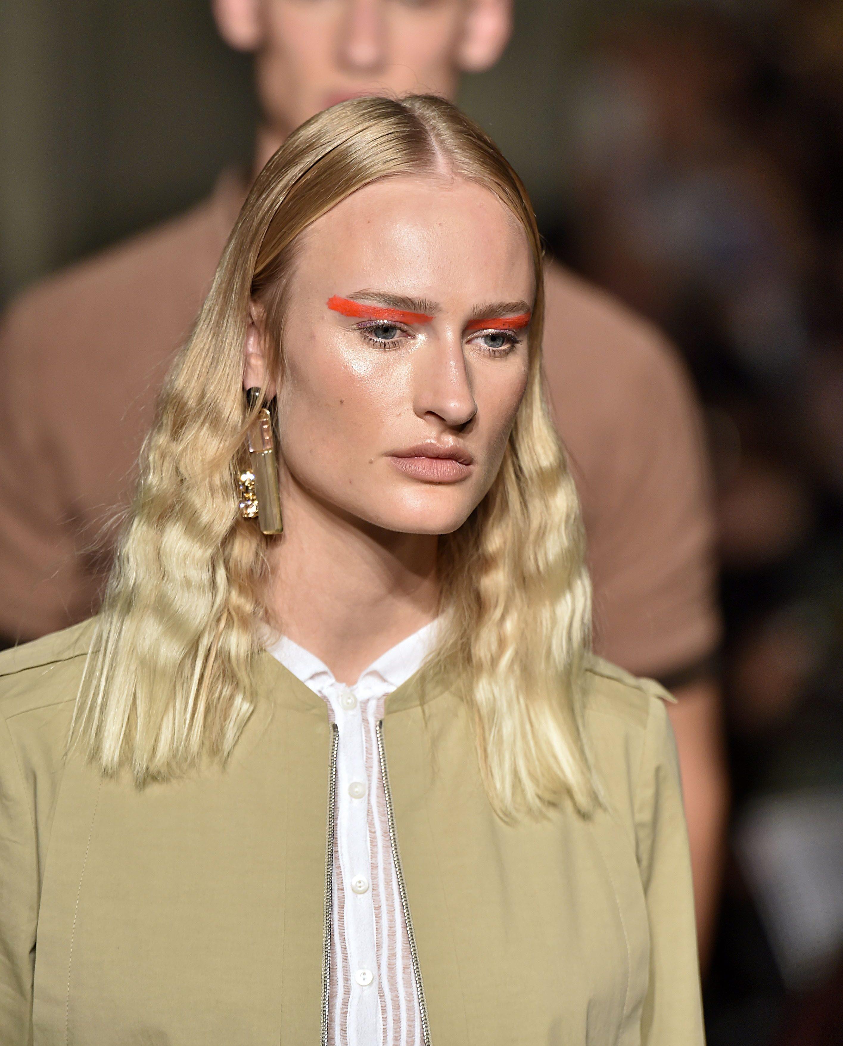 Best hair MFW SS17: All Things Hair - IMAGE - Cividini crimped hair