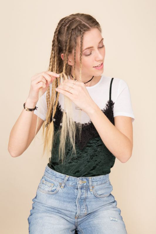 Hair Tutorial How To Crimp Your Hair Without A Crimper
