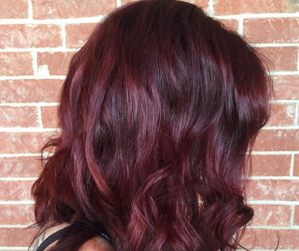 Dark Red Hair Colours To Try This Autumn All Things Hair Uk