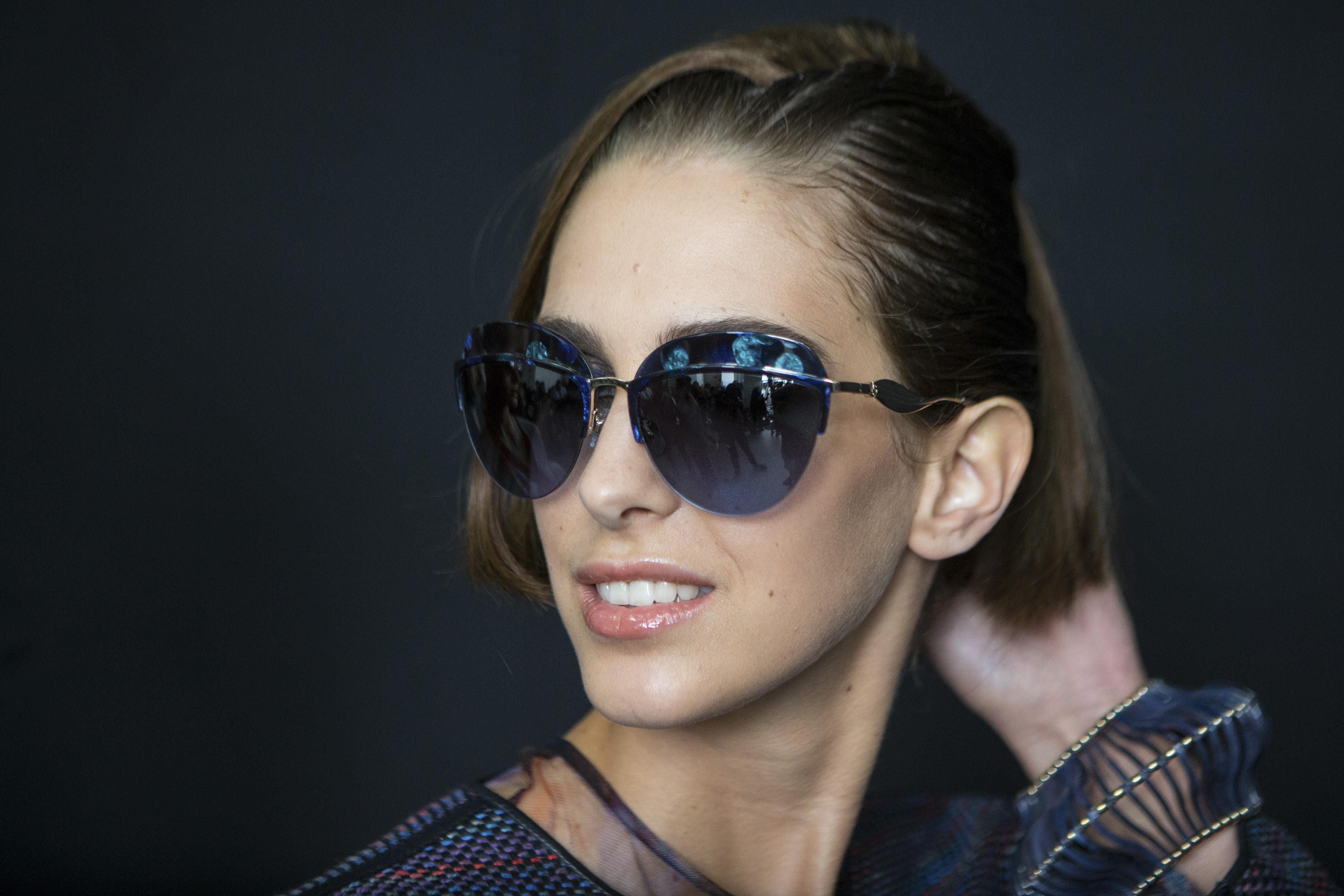 Best hair MFW SSS17: All Things Hair - IMAGE - Giorgio Armani faux half bob