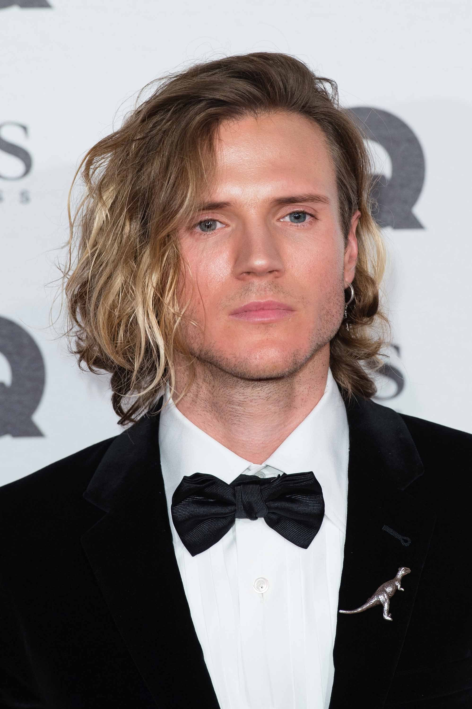 mens hair Dougie Poynter GQ awards 2016