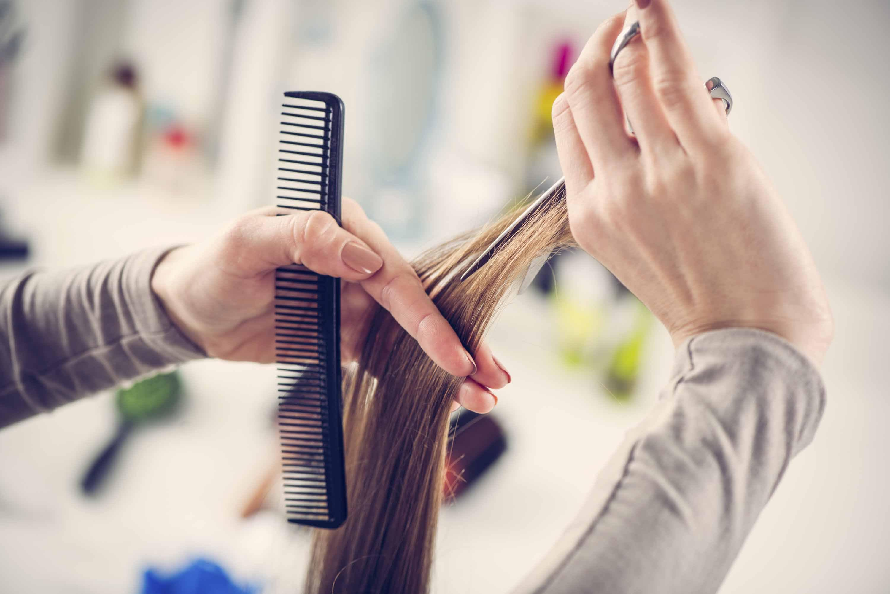 How to repair damaged hair.