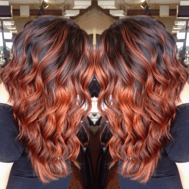Pumpkin Spice Hair Is The Autumn Hair Trend Everyone S