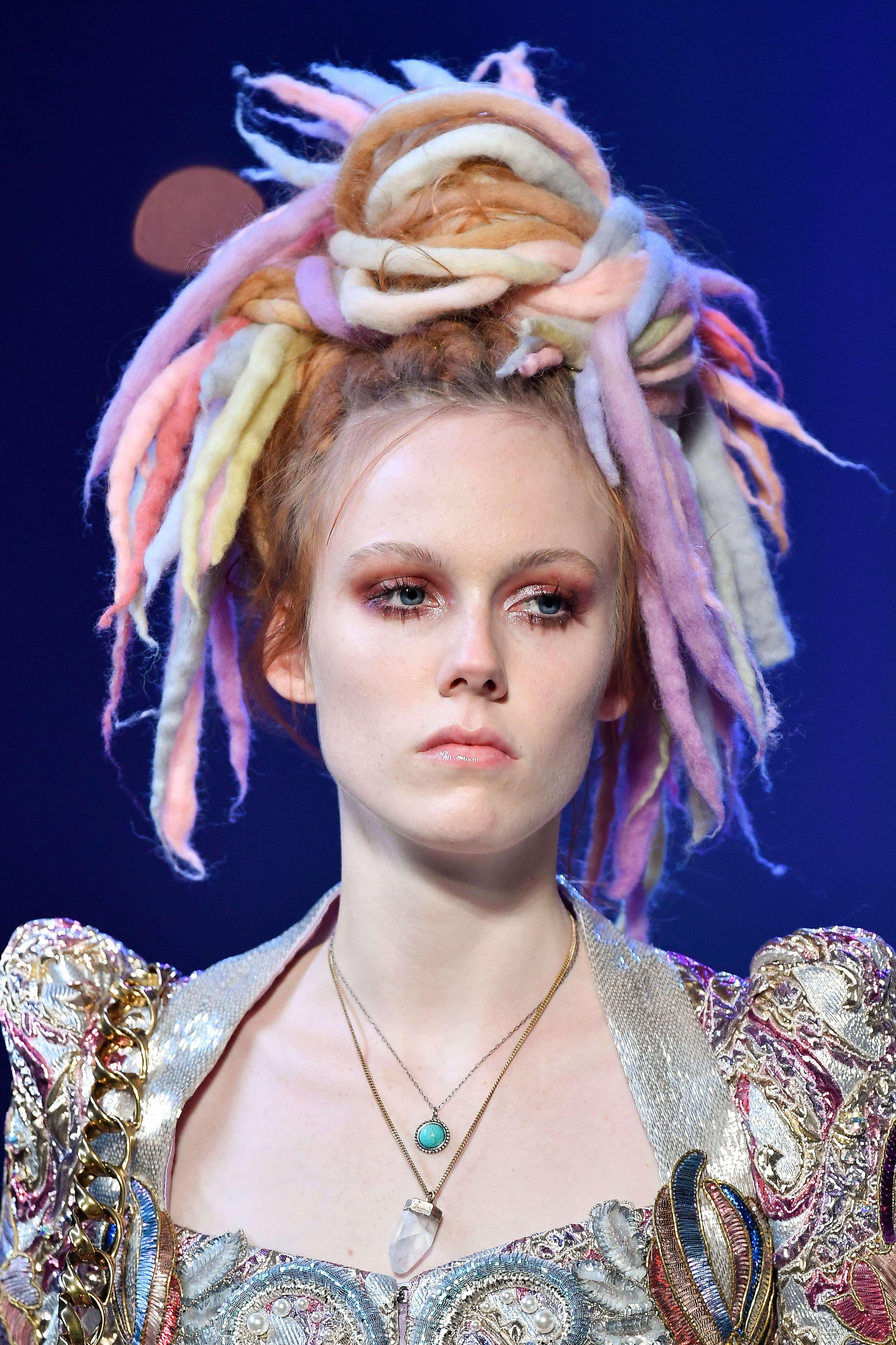 faux dreadlocks Marc Jacobs fashion week
