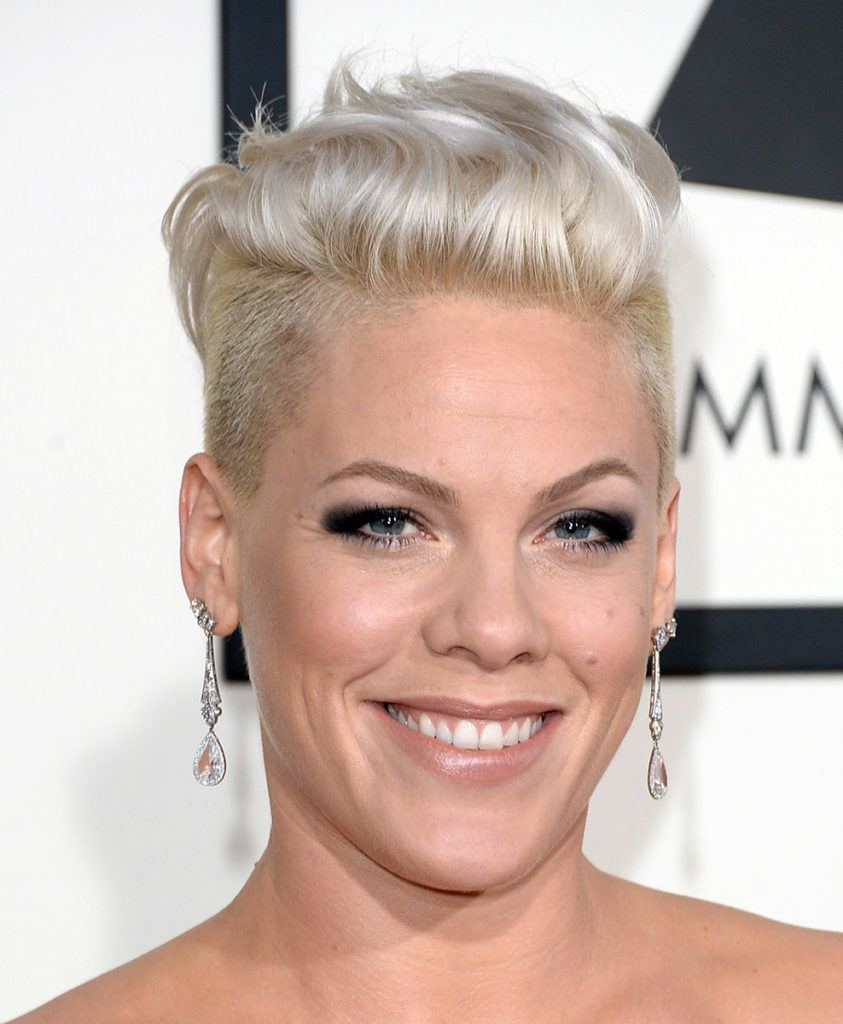 See the best short hairstyles ever rocked by pop-punk princess Pink ...