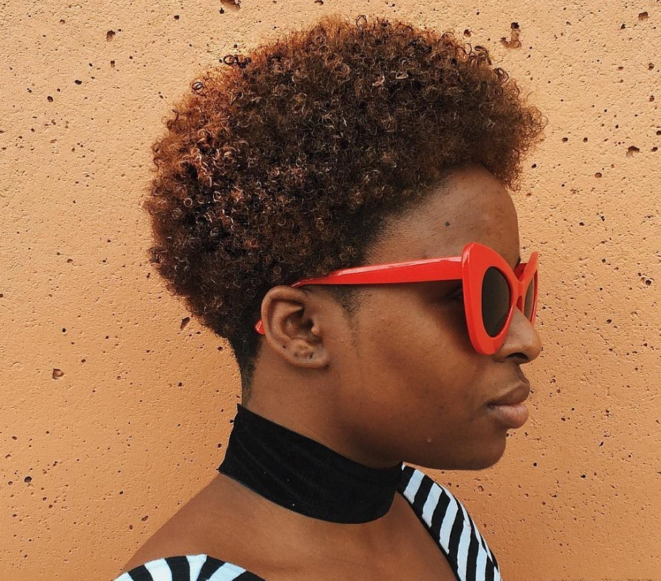 Short Hairstyles For Black Women That You Can Wear To School All