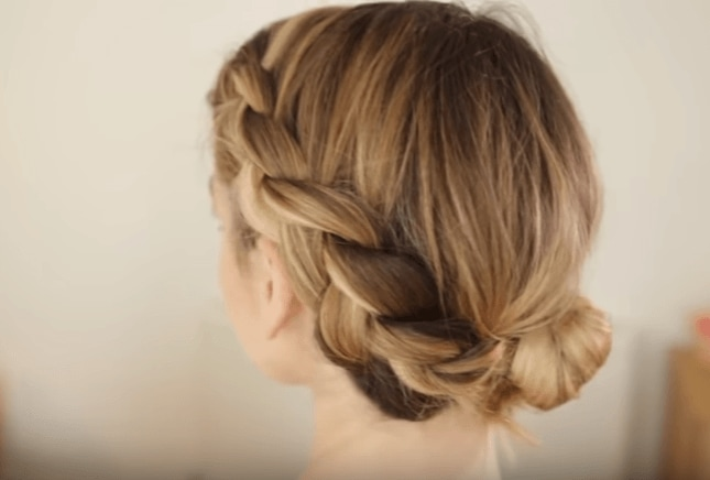 20 easy updos you can do in a flash hair up all things hair image zoella style it on dutch braid side easy updo pmusecretfo Images