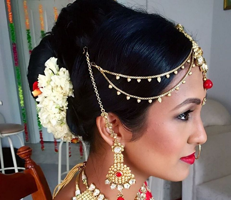 Asian Wedding Hairstyle: 17 Of The Best Indian Wedding Hairstyles For Your Big Day
