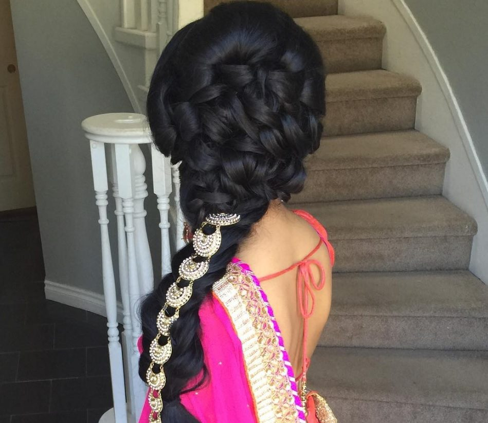Indian Wedding Braid Hairstyles: 17 Of The Best Indian Wedding Hairstyles For Your Big Day