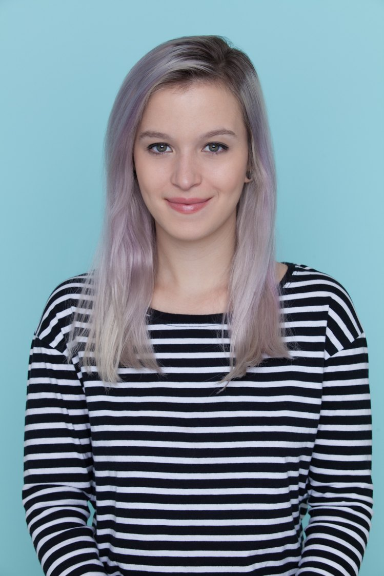 best hair mousse: All Things Hair - IMAGE -thin coloured silver lilac hair