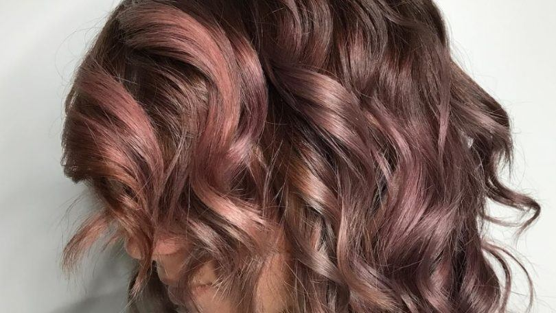 mauve hair: All Things Hair - IMAGE - chocolate mauve hair colour trend Instagram