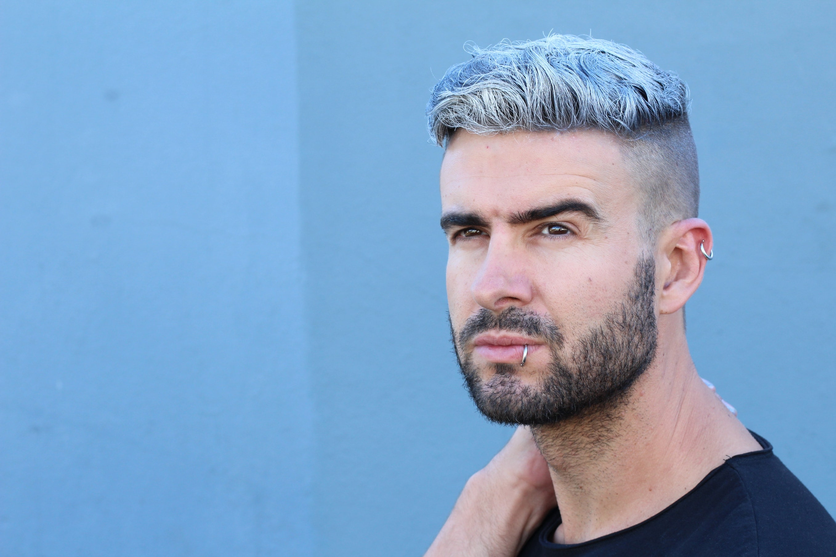 Undercut for men: All Things Hair - IMAGE - coloured high top