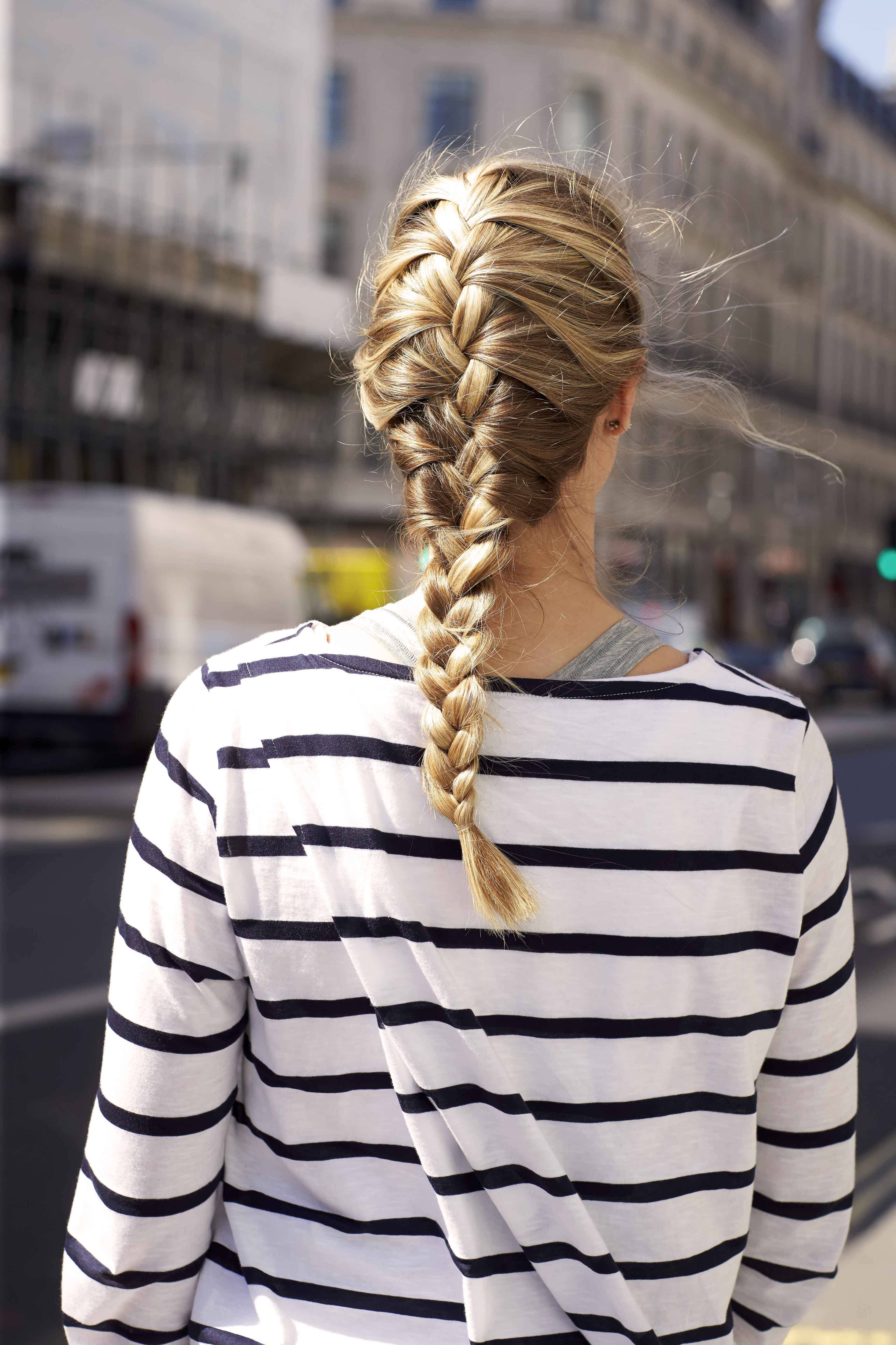 How To French Braid Your Own Hair: A Simple Stepbystep
