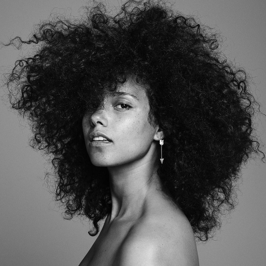 Curly: All Things Hair - IMAGE - Alicia Keys