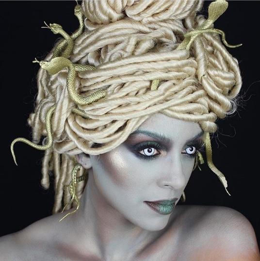 Black hair ideas for Halloween: All Things Hair - IMAGE - Medusa