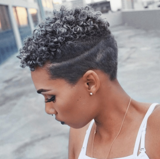 Grey hair trend: All Things Hair - IMAGE - natural hair afro pixie