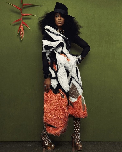Kelly Rowland: All Things Hair - IMAGE - natural hair with hat