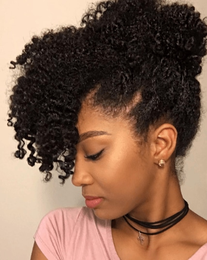 5 Pretty And Professional Hairstyles For Natural Hair