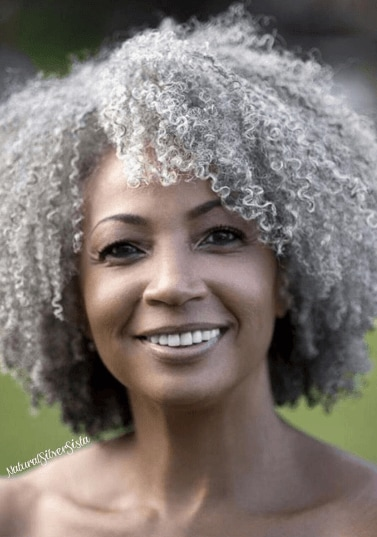Grey hair trend: All Things Hair - IMAGE - natural hair