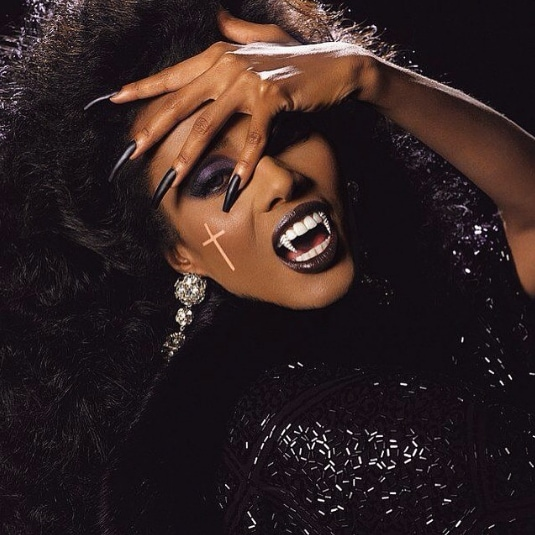 Black hair ideas for Halloween: All Things Hair - IMAGE - vampire