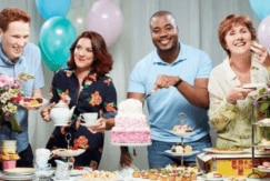 Great British Bake Off: All Things Hair - IMAGE - contestants Jane Beedle Candice Brown