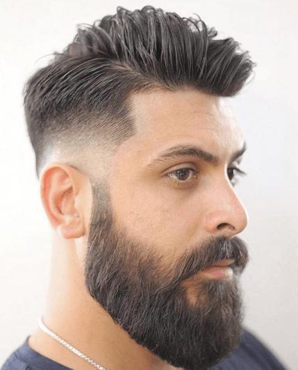 Bald fade: All Things Hair - IMAGE - fade and beard